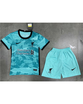 Liverpool Away Kids Soccer Jersey 2020 21
