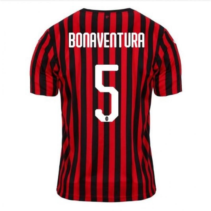 AC Milan Home BONAVENTURA Soccer Shirts 2019-20