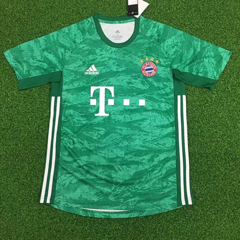 official photos b9863 8cd1a Bayern Munich Home Goalkeeper Soccer Shirts 19-20