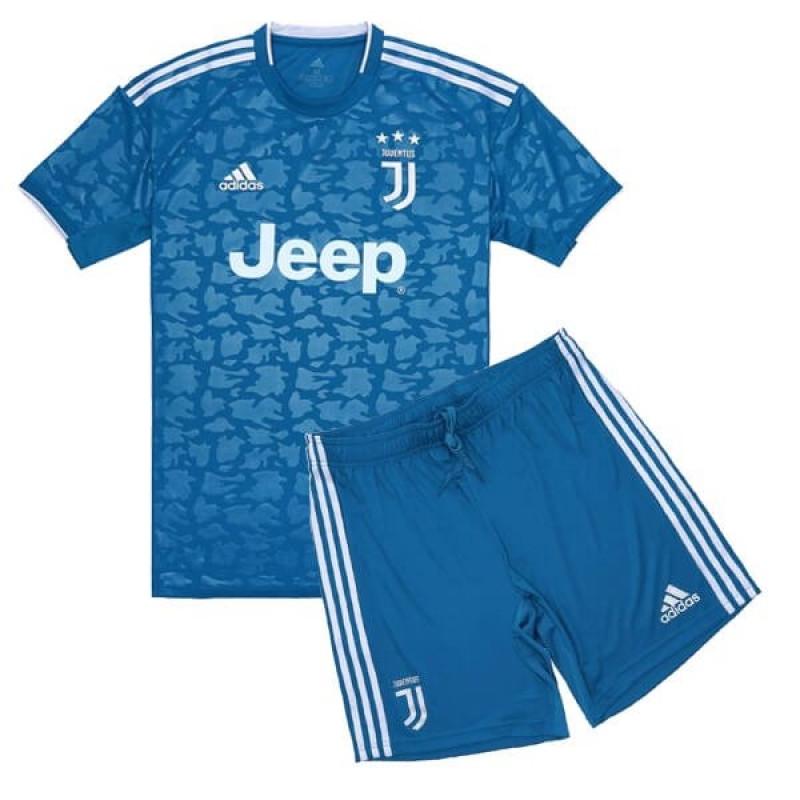 Juventus 3RD Away Kids Soccer Jersey 2019-20