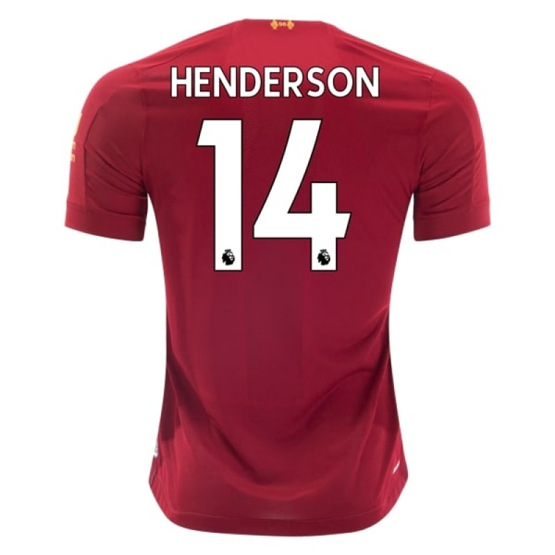 Liverpool Home HENDERSON Soccer Shirts 2019-20