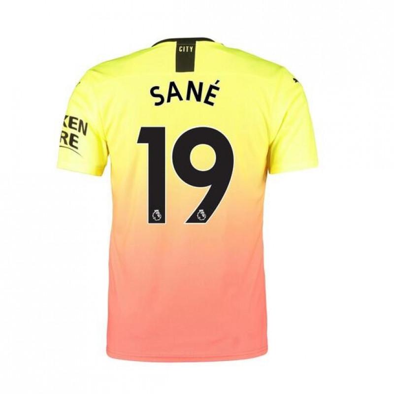 Manchester City Third Away SANE Soccer Shirts 2019-20