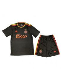 Ajax Third Away Kids Soccer Kit 2021-22