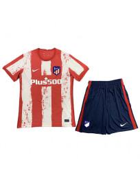 Atletico Madrid Home Kids Soccer Kit 2021-22