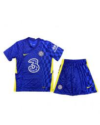 Chelsea Home Kids Soccer Kit 2021-22