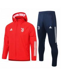 Juventus Red Training Tracksuit 2021-22