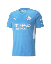 Manchester City Home Soccer Jersey 2021-22