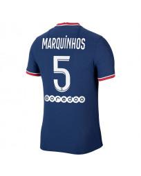 Paris SG Home MARQUINHOS Soccer Jersey 2021-22