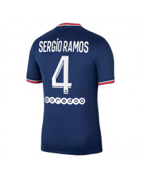 Paris SG Home SERGIO RAMOS Soccer Jersey 2021-22