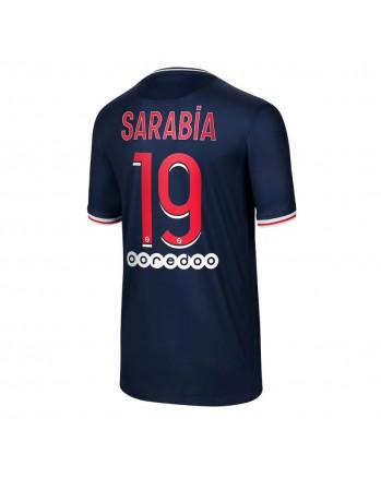 Paris SG Home SARABIA Soccer Jersey 2020-21