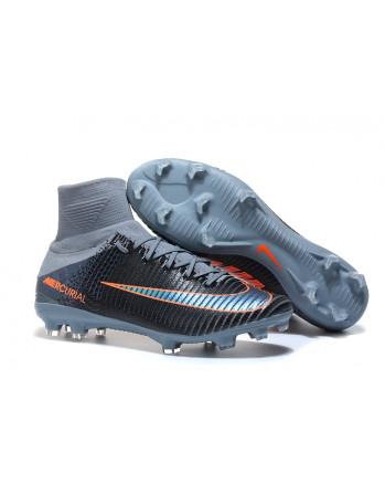 Ronaldo Boots Soccer Boots Black&Grey 20180121007