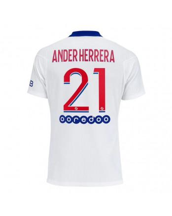 Paris SG Away ANDER HERRERA Soccer Jersey 2020-21