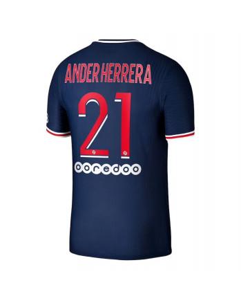 Paris SG Home ANDER HERRERA Soccer Jersey 2020-21