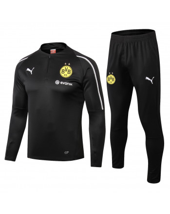 Dortmund black training tracksuit 2018-19