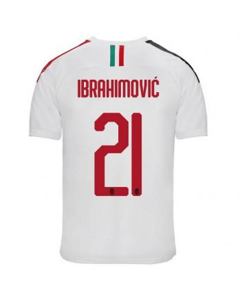 AC Milan Away IBRAHIMOVIC Soccer Jersey 2019-20