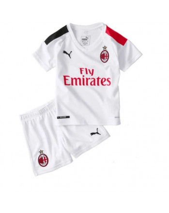 AC Milan Away Kids Soccer Kit 2019-20