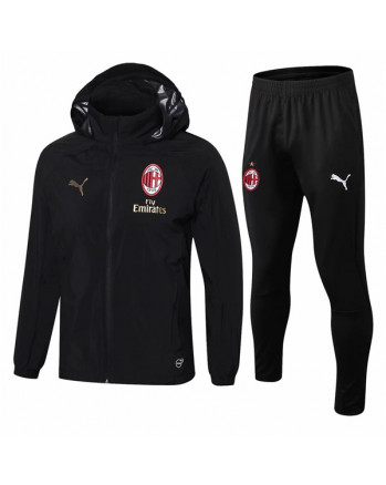 AC Milan Black Training Tracksuit 2019-20
