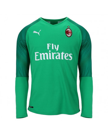 AC Milan Green Goalkeeper Long Sleeve Soccer Jersey 2019-20