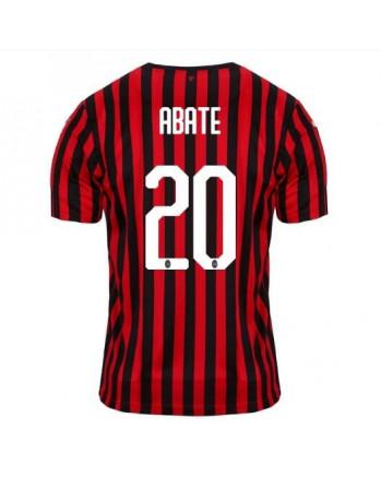 AC Milan Home ABATE Soccer Jersey 2019-20
