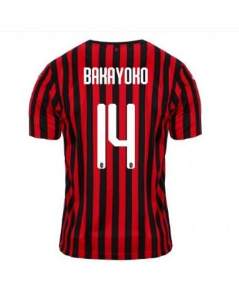 AC Milan Home BAKAYOKO Soccer Jersey 2019-20