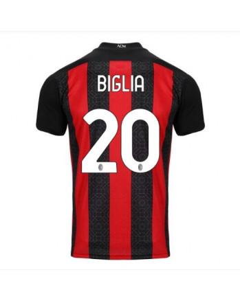 AC Milan Home BIGLIA Soccer Jersey 2020-21