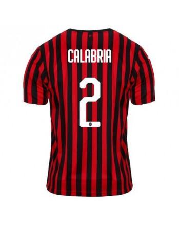 AC Milan Home CALABRIA Soccer Jersey 2019-20