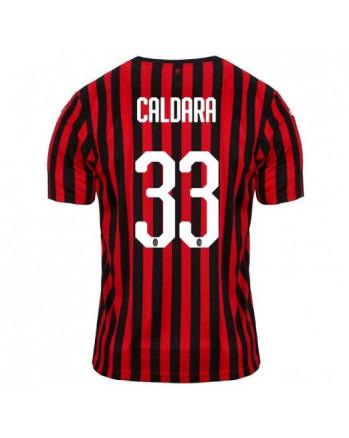 AC Milan Home CALDARA Soccer Jersey 2019-20