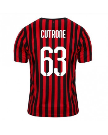 AC Milan Home CUTRONE Soccer Jersey 2019-20