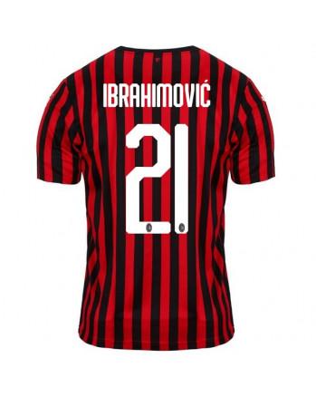 AC Milan Home IBRAHIMOVIC Soccer Jersey 2019-20