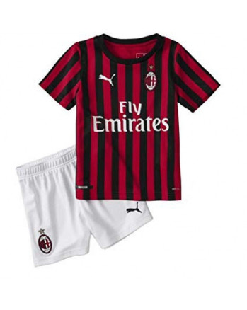 AC Milan Home Kids Soccer Kit 2019-20