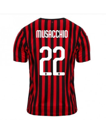 AC Milan Home MUSACCHIO Soccer Jersey 2019-20