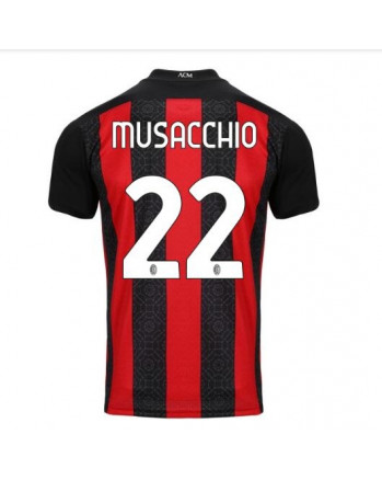AC Milan Home MUSACCHIO Soccer Jersey 2020-21