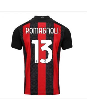 AC Milan Home ROMAGNOLI Soccer Jersey 2020-21