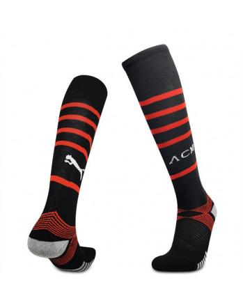 AC Milan Home Soccer Socks 2021-22