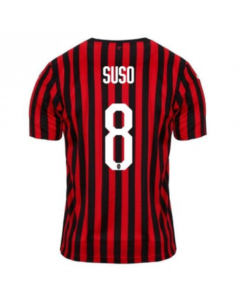 AC Milan Home SUSO Soccer Jersey 2019-20