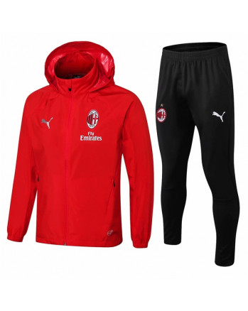 AC Milan Red Training Tracksuit 2019-20