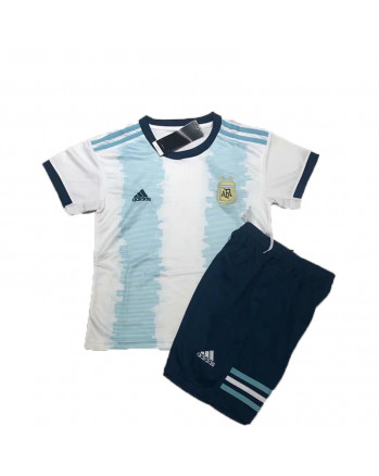 Argentina Home Kids Soccer Kit 2019-20