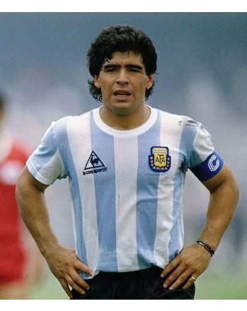 Argentina Home MARADONA Soccer Jersey 1986