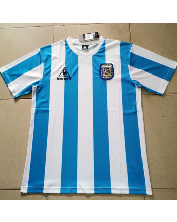 Argentina Home Soccer Jersey 1986