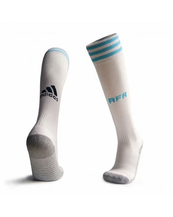 Argentina Home Soccer Socks 2020