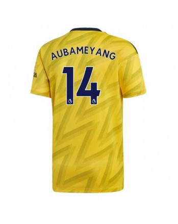Arsenal Away AUBAMEYANG Soccer Jersey 2019-20