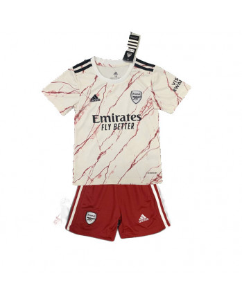 Arsenal Away Kids Soccer Kit 2020-21
