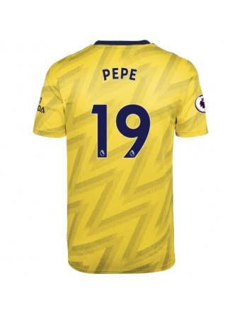 Arsenal Away PEPE Soccer Jersey 2019-20