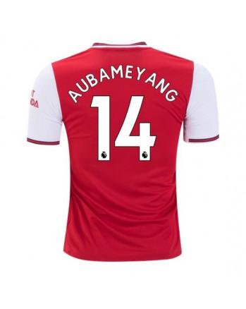 Arsenal Home AUBAMEYANG Soccer Jersey 2019-20