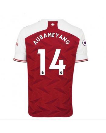 Arsenal Home AUBAMEYANG Soccer Jersey 2020-21