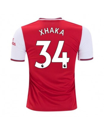 Arsenal Home XHAKA Soccer Jersey 2019-20