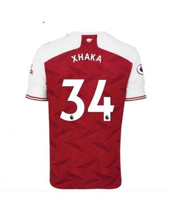 Arsenal Home XHAKA Soccer Jersey 2020-21