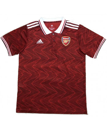 Arsenal Red Polo Training Shirt 2020-21