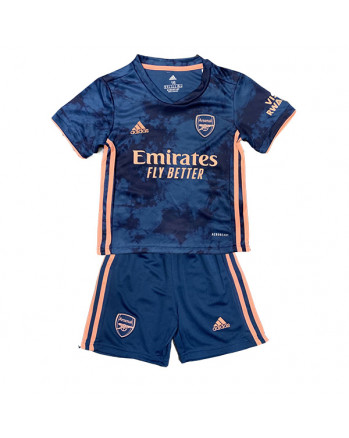 Arsenal Third Away Kids Soccer Kit 2020-21