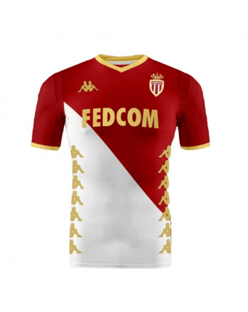 AS Monaco Home Soccer Jersey 2019-20